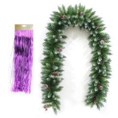 Božične girlande in lamete