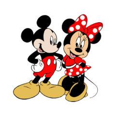Mickey i Minnie Mouse