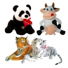 Klasične in velike plišaste igrače