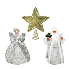 Božični okraski za vrh bora