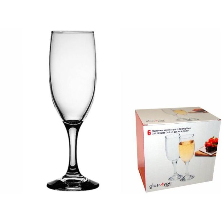 Glass4you kozarci Bistro 190 cc set 6/1