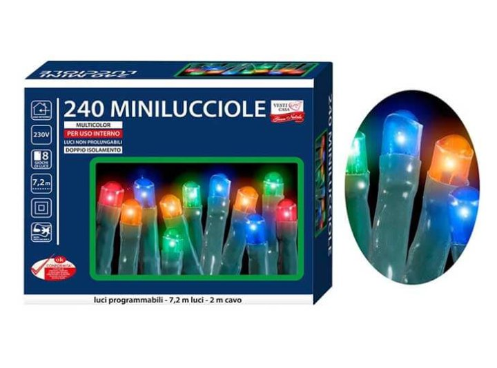Šarene lampice za drvce