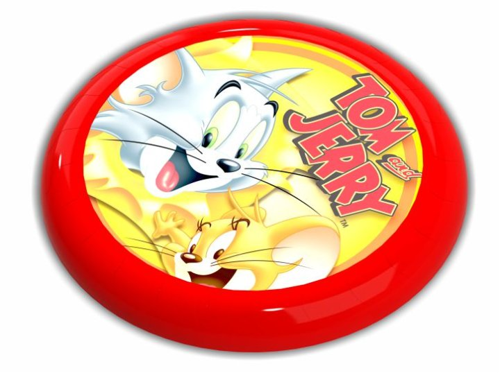 FRIZBI TOM & JERRY LICENCA 23 CM