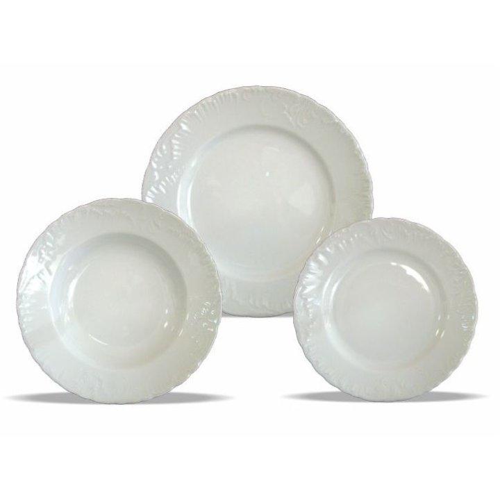 Jedilni servis porcelan 18 delni - Emblemat Rococo