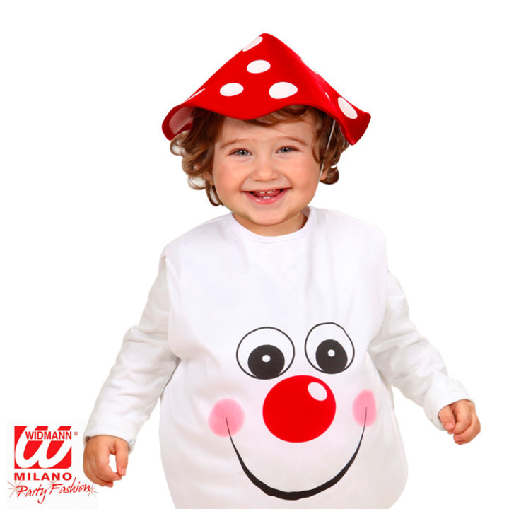 Pustni kostum za otroke goba