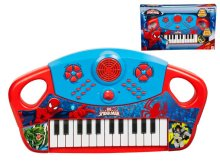 ULTIMATE-SPIDERMAN PIANO NA BATERIJE V ŠKATLI 40,5X24,5 CM