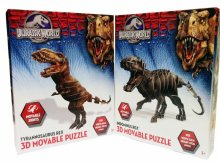 PUZZLE 3D MODEL DINOSAURA JURASSIC WORLD 32x37 CM