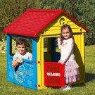 IGRALNA HIŠKICA Z OGRAJO - MY FIRST HOUSE