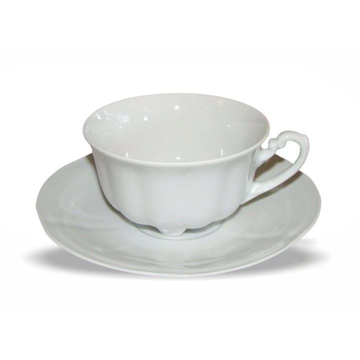 Skodelice za kavo 6/1 porcelan s podstavkom