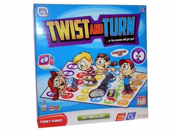 Zabavna igra Twist and Turn