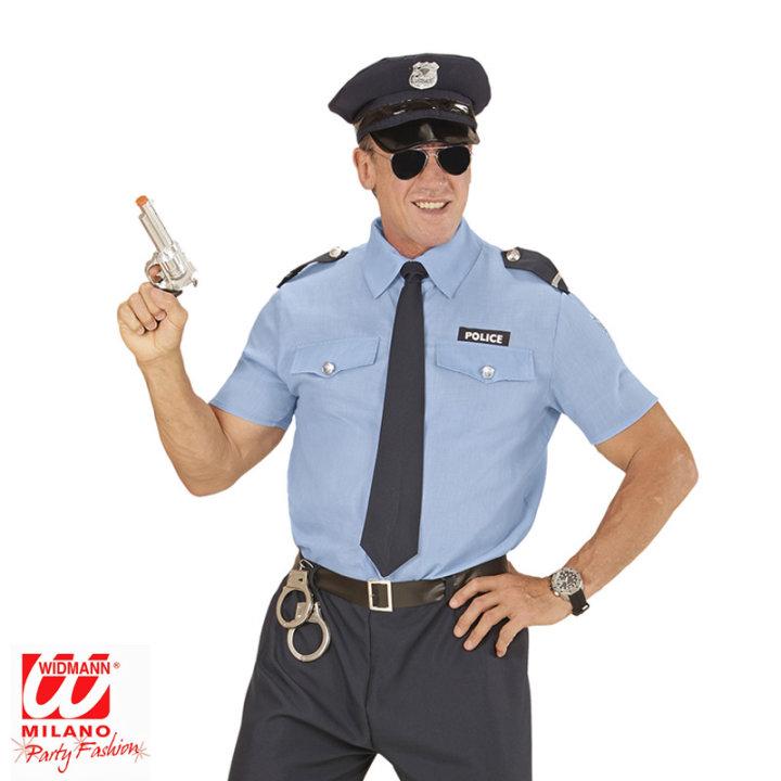 Pustni kostum policist