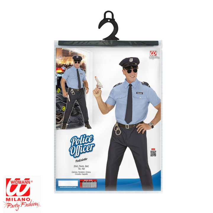 KOSTUM POLICIST - L