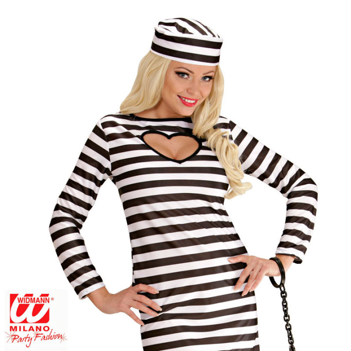 Pustni kostum zapornica