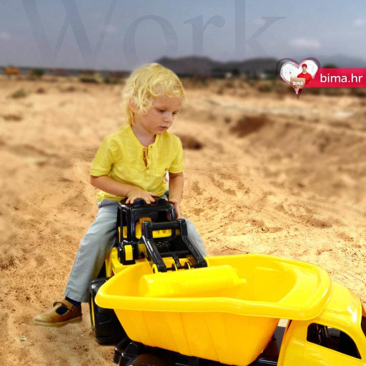 otroški tovornjak