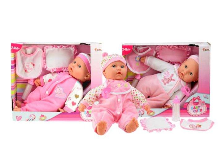 Punčka dojenček z opremom
