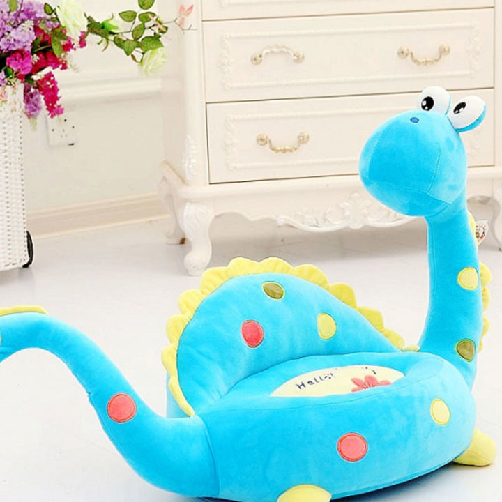 Otroški fotelj - Dinozaver modri