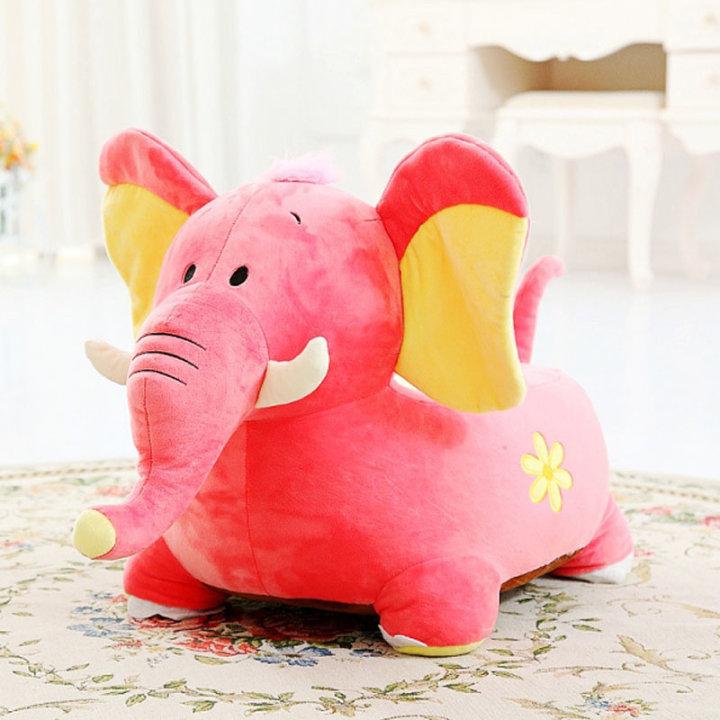 Plišasti otroški fotelj - slon