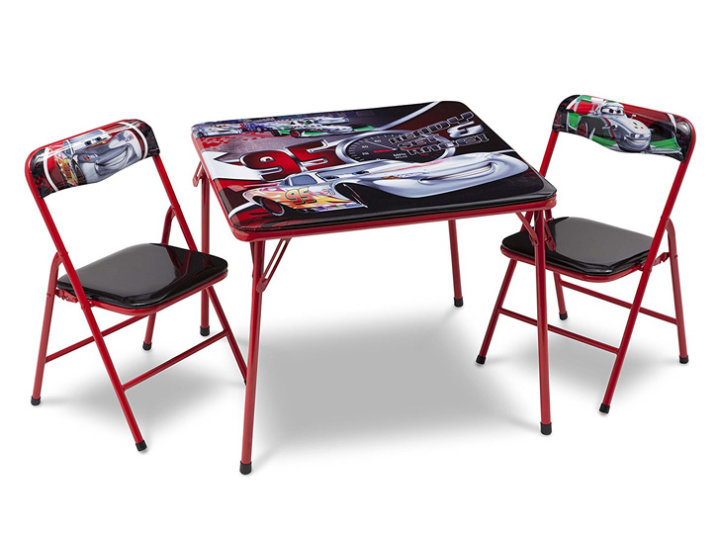 Kovinska mizica Cars