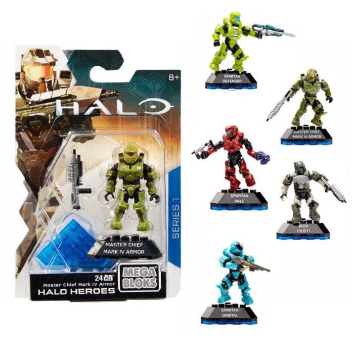 Halo figura s priborom 15x10 CM - Mega Bloks
