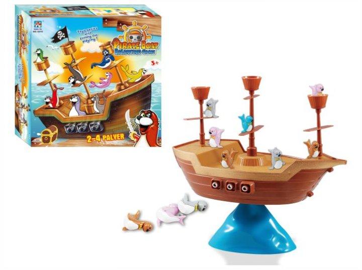 Piratska ladja - družabna igra