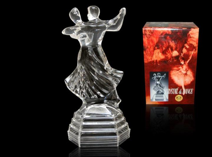 Figura kristalna Tango 25 cm - RCR