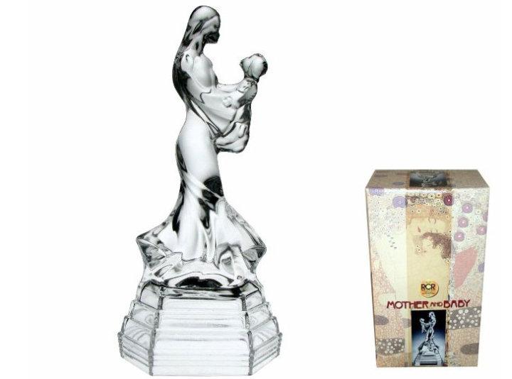 Figura kristalna - Mati z otrokom - RCR