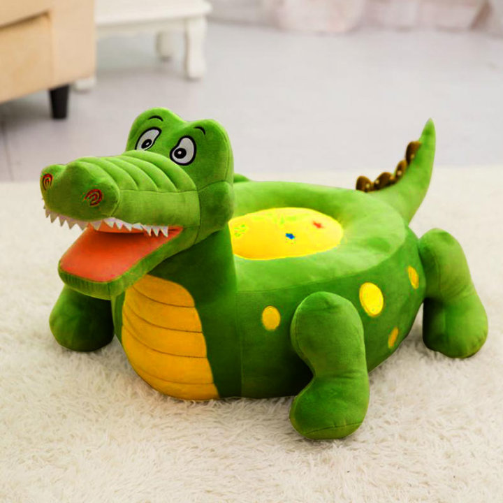 Otroški fotelj krokodil