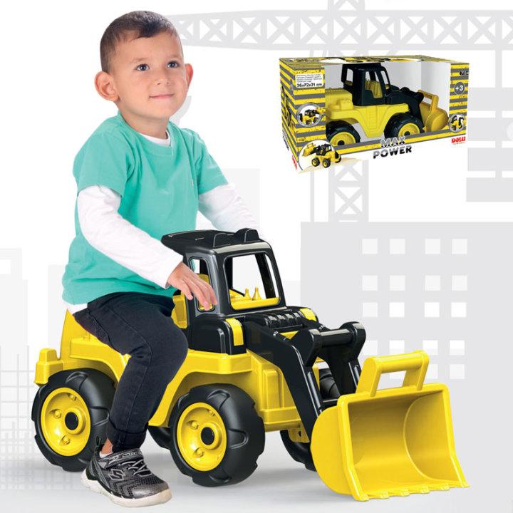 Bager s sedežem Max Power, igrača za otroke