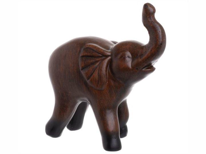 dekoracija slon keramički
