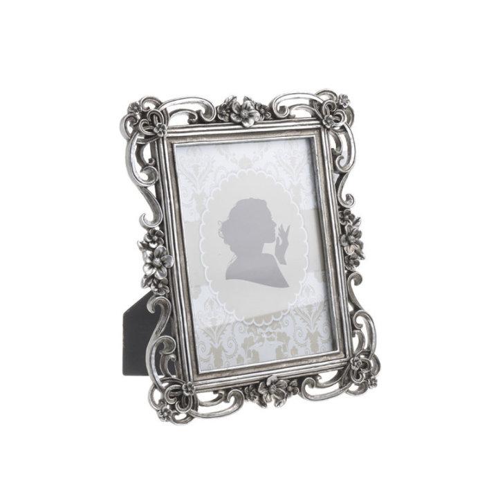 Foto okvir za slike antično srebrne barve - Polyresin