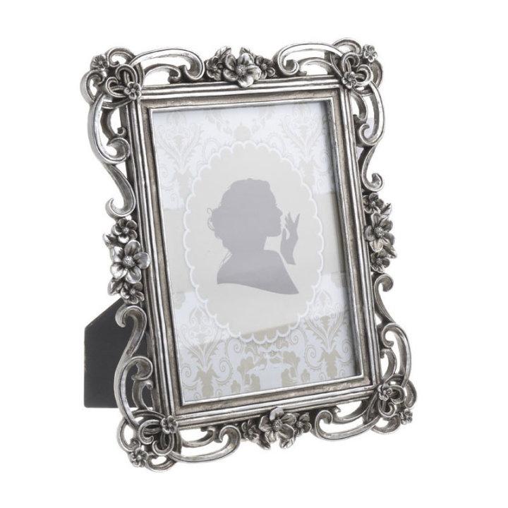 Foto okvir za slike starinsko srebrne barve