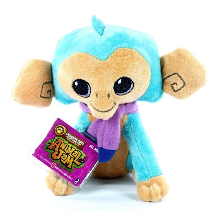 Animal Jam plišasta opica, 17 cm