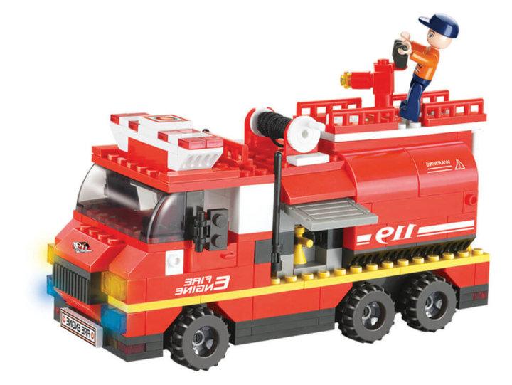 Kocke za zlaganje | Gasilno vozilo 281 kosov