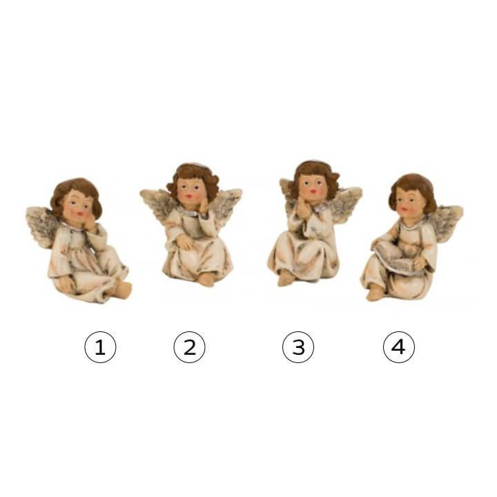 Figura sedeči angel 7 cm