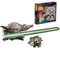 STENSKE PUZZLE STAR WARS - YODA, 54 DELNE 109x48 CM