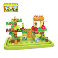 FISHER PRICE KOCKE MEGA BLOKS 87 DELNE - JUNGLE