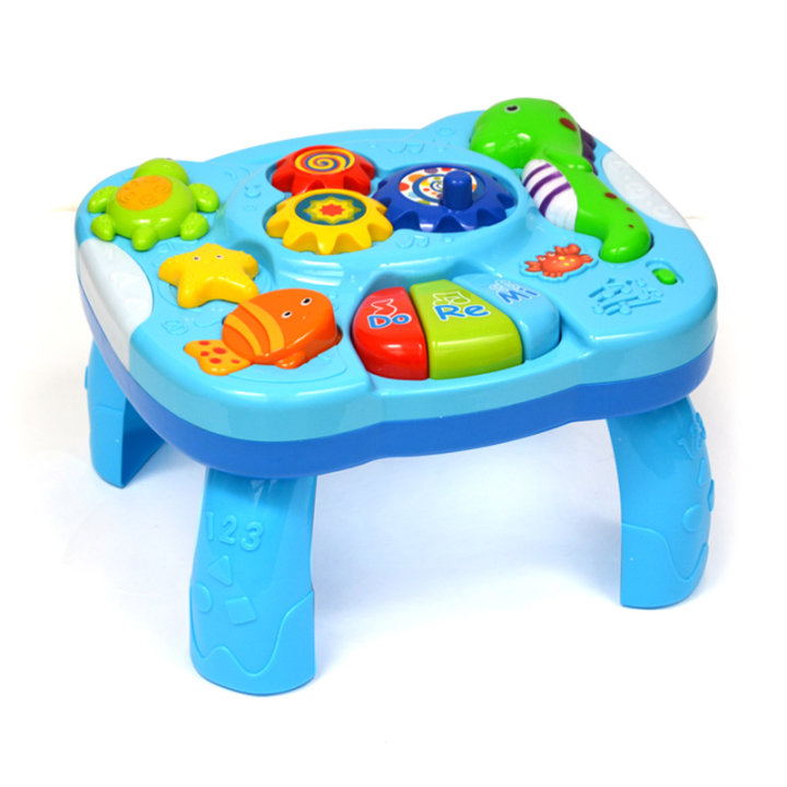 Glasbena igrača - mizica za bebe