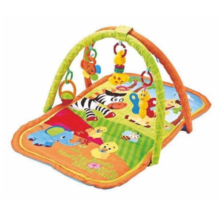 Baby Gym igralna podlaga z motivom živali 45 x 6,5 x 40 cm