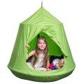 Gugalnica gnezdo s šotorom, zelene barve