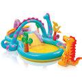 Intex napihljiva igralnica - bazen Dino Land
