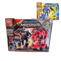 BLOCK TECH KOCKE ROBOT - TRANSFORMER 2V1 173 DELNE