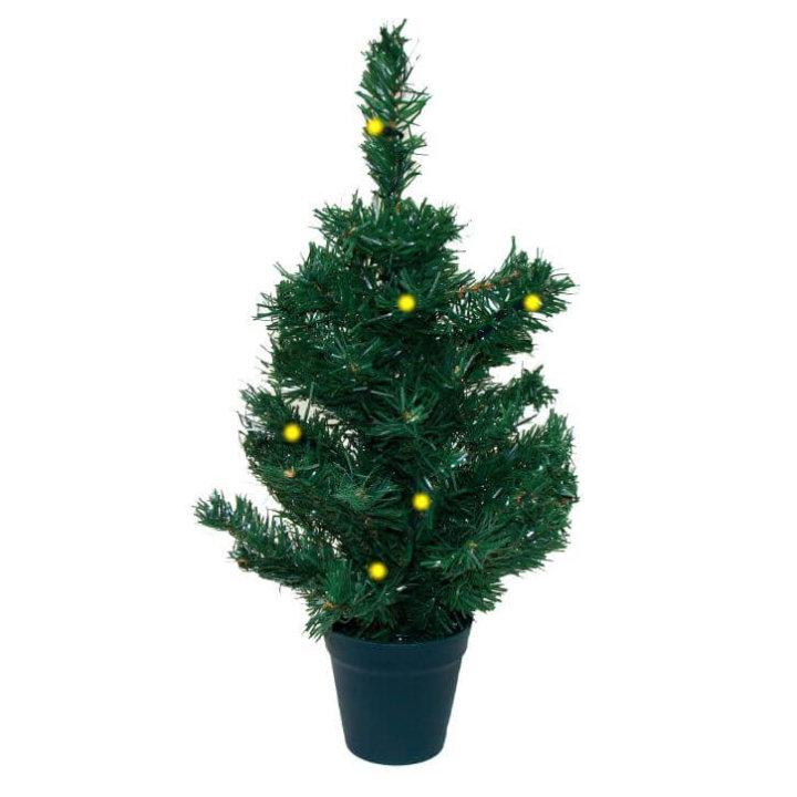 božićno drvce 45 cm s led žaruljicama