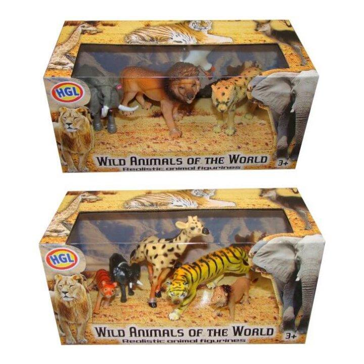 životinje divlje u kutiji 20x10 cm