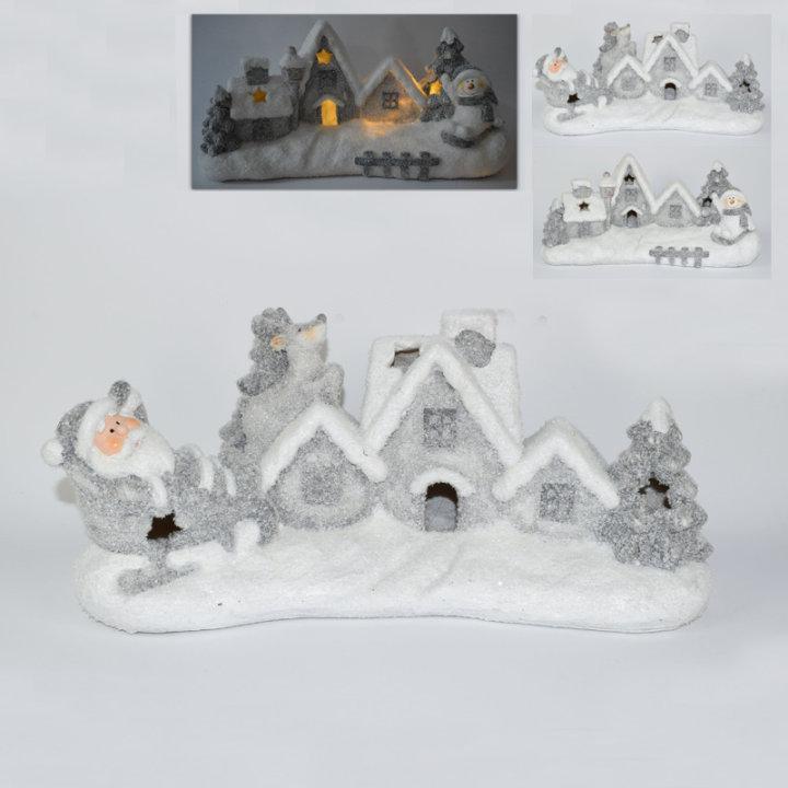 božićno selo dekoracija