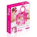 Stolić za djevojčice sa kozmetikom