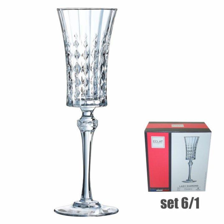 Čaše Luminarc za šampanjac