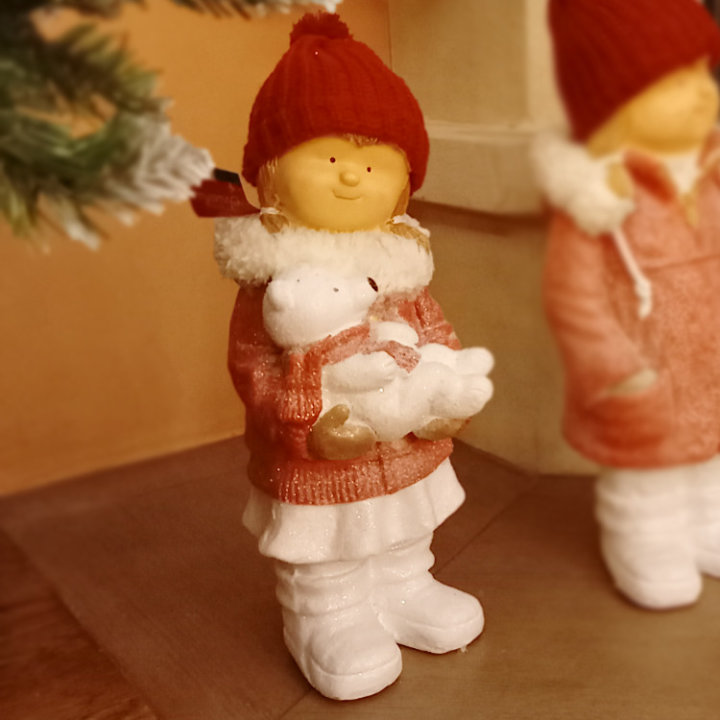 Božični ukrasi figure