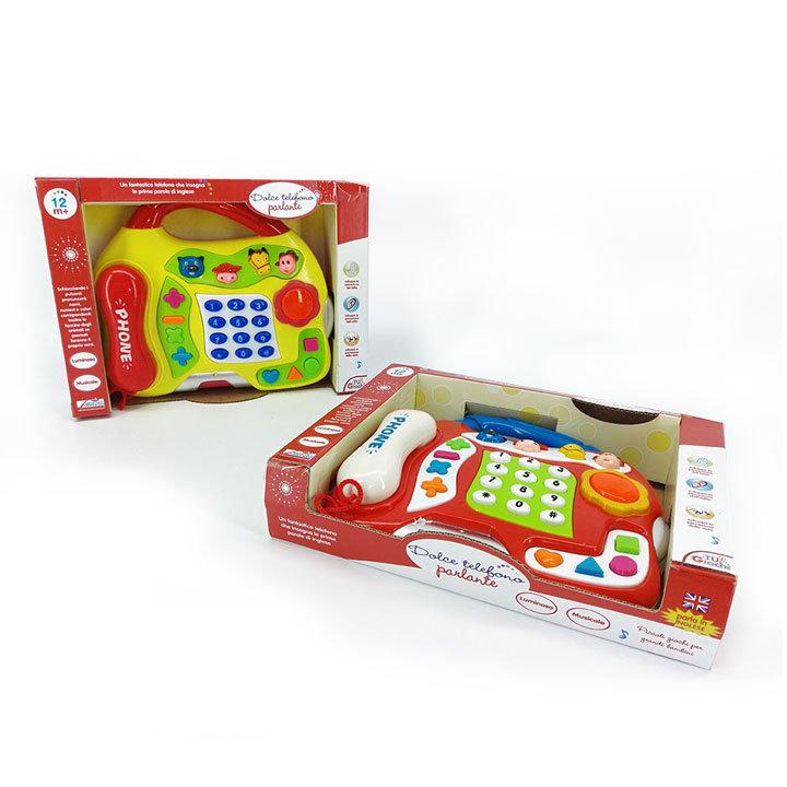 GLASBENI IGRALNI TELEFON 28,5x21 CM