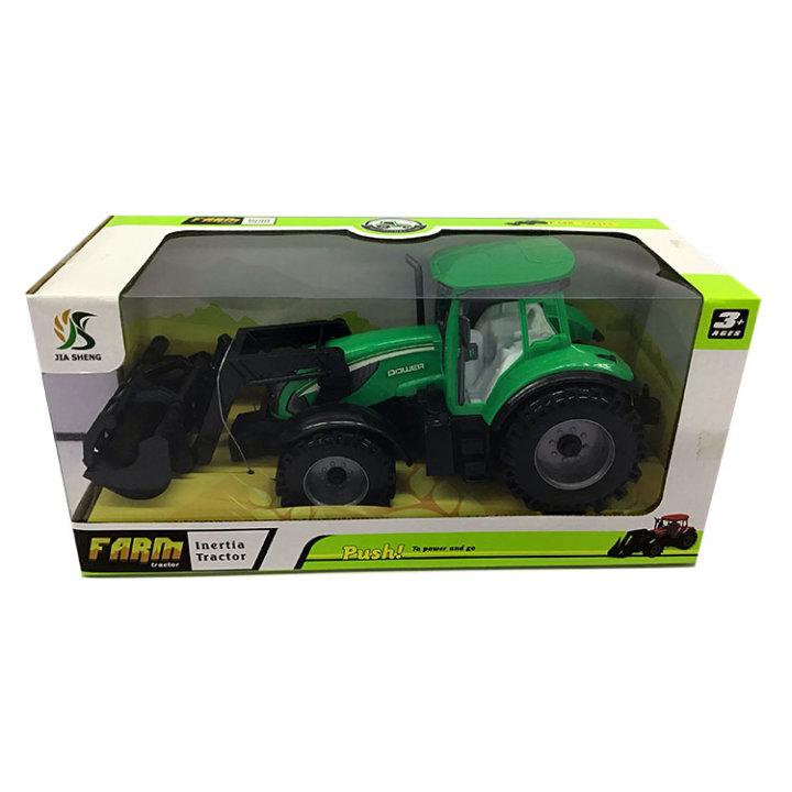 traktor zeleni