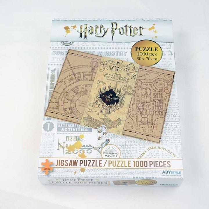 HARRY POTTER UGANKE 1000/1 - MARAUDER'S MAP
